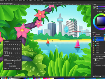 Become a pilot: VectorStyler - Illustration and graphics software for Mac