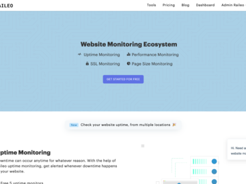 Become a pilot: Raileo - Website Monitoring Ecosystem