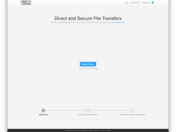 Become a pilot: SendSecure.io - Direct and Secure File Transfers