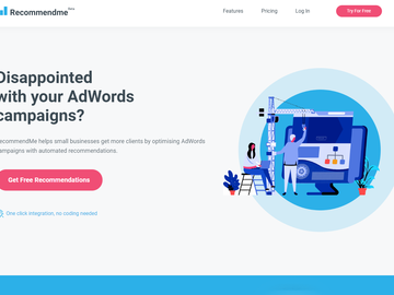 Become a pilot: Recommendme - Automated Recommendations for AdWords Campaigns